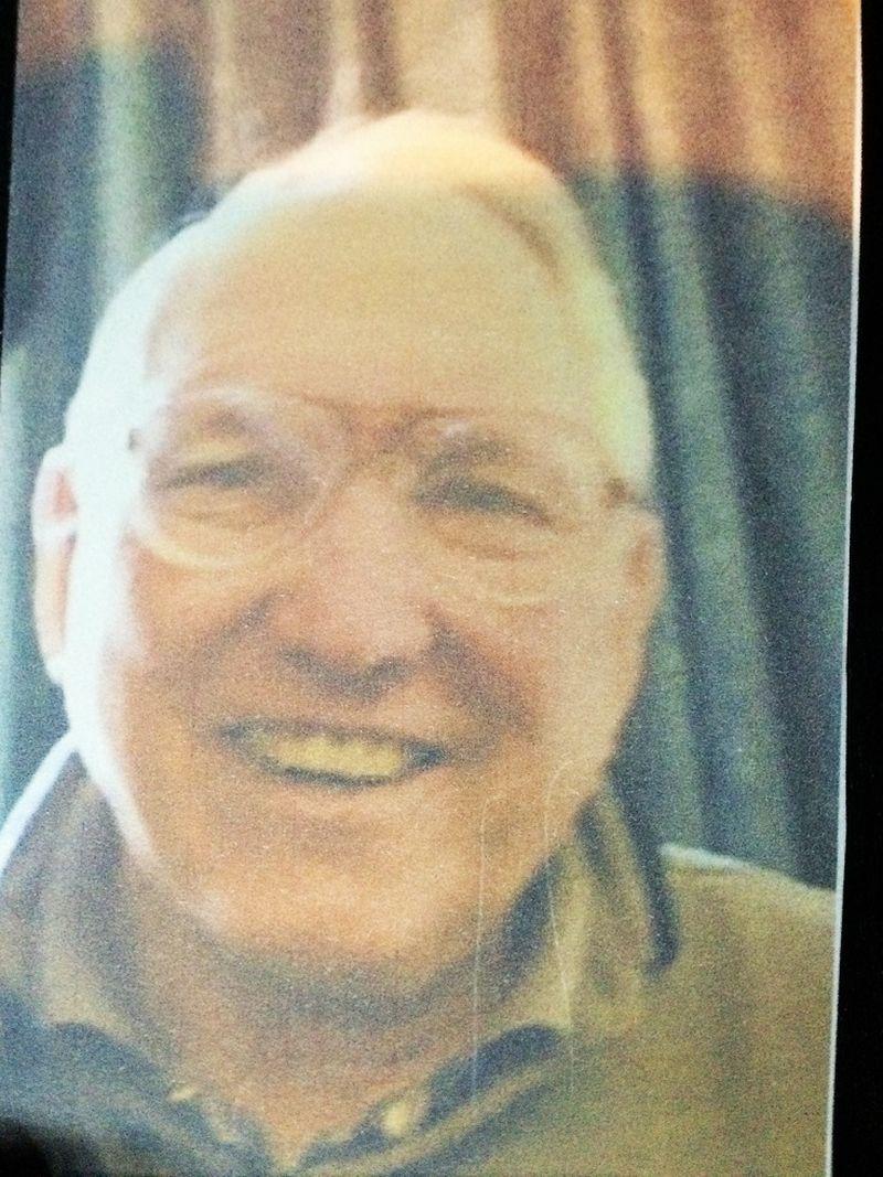 Missing man Ernest