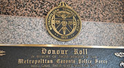 Link to Toronto Police Memorial page