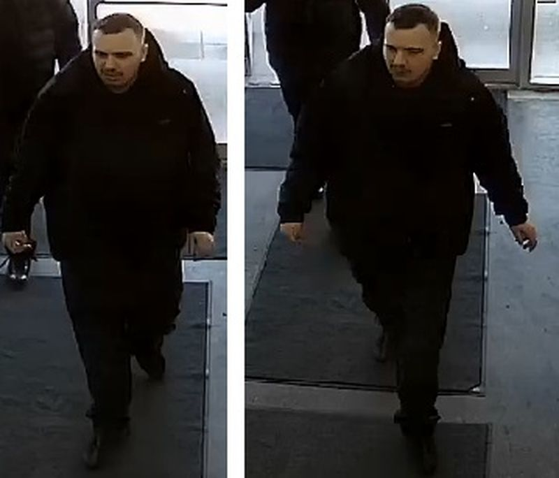 Suspect #3 in Theft Over $5000 investigation